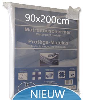 Matrasbeschermer Waterdicht 90x200cm