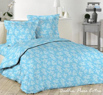 Dekbedovertrek 240 x 220 cm Luxe Katoen Bedlin Light blue