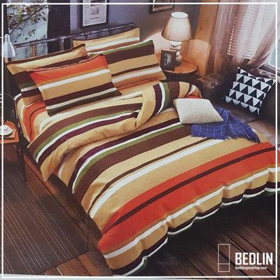 Dekbedovertrek Micropercal 200 x 200cm Bedlin Orange