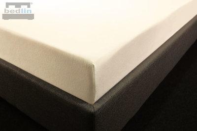 Hoeslaken Katoen-Jersey 180 x 200 cm Ecru