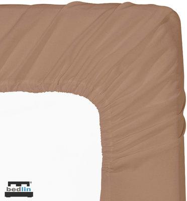 Hoeslaken Micropercal 2 persoons en strijkvrij (160 x 200cm) Bruin