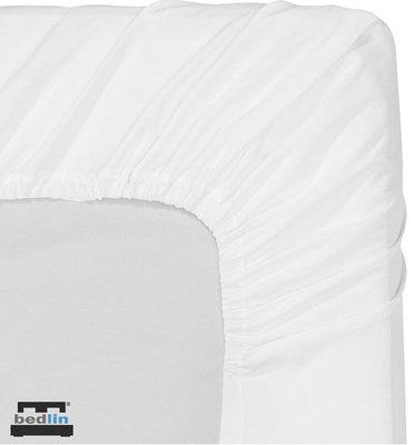 Hoeslaken Micropercal 1 persoon en strijkvrij (90/100 x 200cm) Wit
