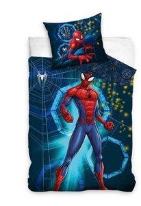 Luxe Katoen Dekbedovertrek 1 persoon 140 x 200 cm Spiderman