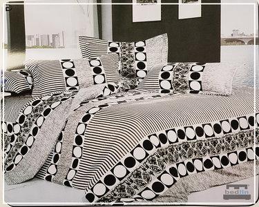 Dekbedovertrek cm micropercal lits jumeaux bedlin marroc