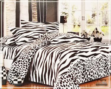 Dekbedovertrek cm micropercal lits jumeaux bedlin zebra