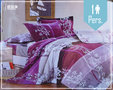Micropercal Lakenset Marroc Mauve 1 Persoon